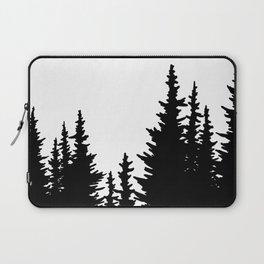 Dense Forest Tree Line Laptop Sleeve