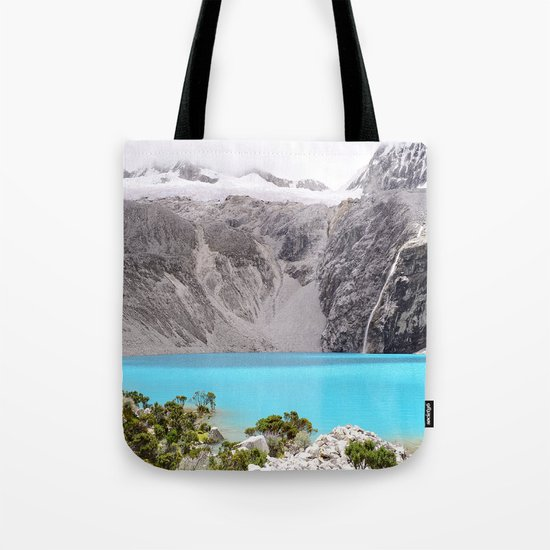 Blue Water Mountains Tote Bag