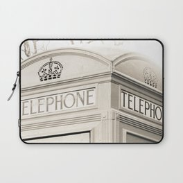London telephone booth Laptop Sleeve