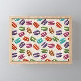 Macaroon Framed Mini Art Print