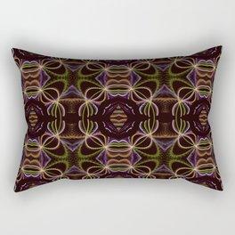 Modern grunge tribal pattern design Rectangular Pillow