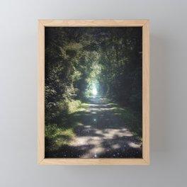 Follow your Path Framed Mini Art Print