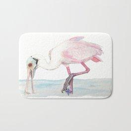 Roseate Spoonbill Bath Mat