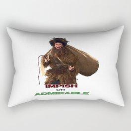 impish or admirable Rectangular Pillow