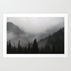 I Love This Place Art Print