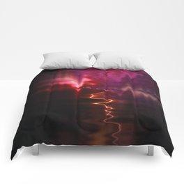 Firework Waves Comforters