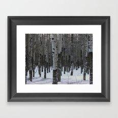 Whispering Aspen Framed Art Print