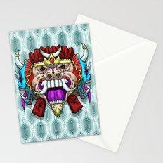 Greed Barong Mask Stationery Cards
