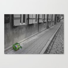 My Traveling Pack Canvas Print