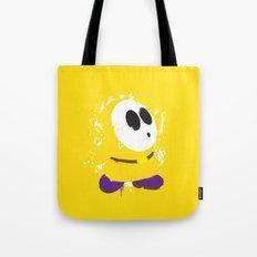 Yellow Shy Guy Splattery Design Tote Bag