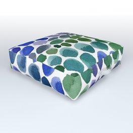 Path to the Secret Garden Outdoor Floor Cushion