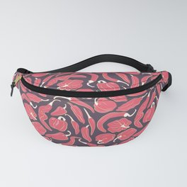 Red chili peppers Fanny Pack