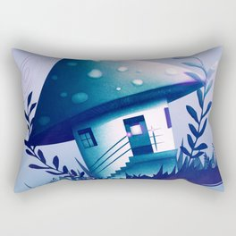 Magic Mush Room - Pattern Rectangular Pillow