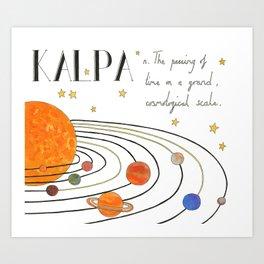 Kalpa Art Print