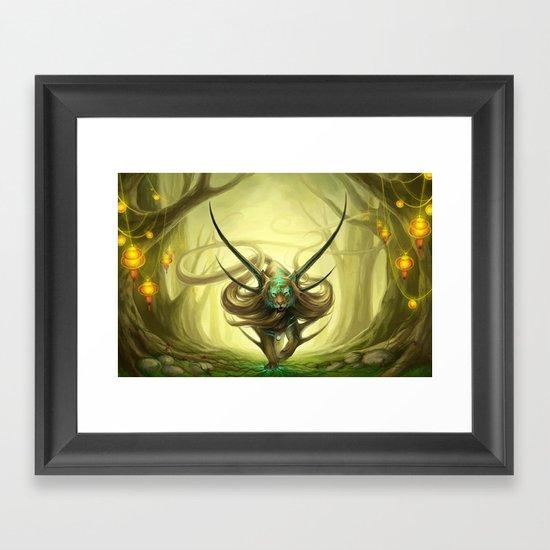 """""""God of Evanescence"""" Framed Art Print"""