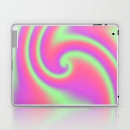 Tutti Frutti Ribbon Candy Fractal Laptop & iPad Skin