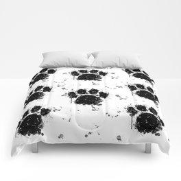Pawprint Love Comforters