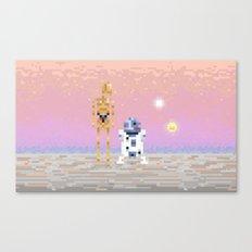 The Droids Canvas Print