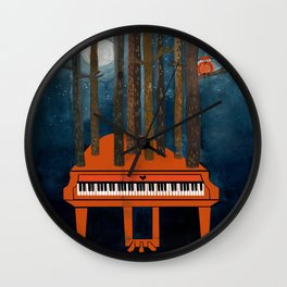 Moonlight Sonata - Beethoven Wall Clock