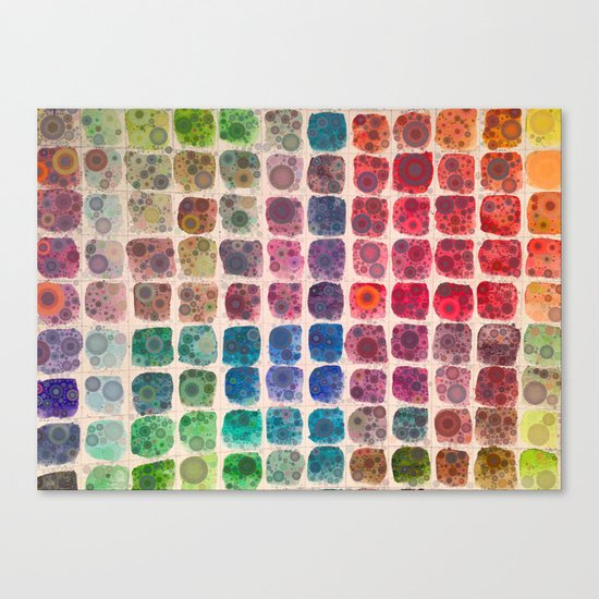 Paintbox Dreams Canvas Print