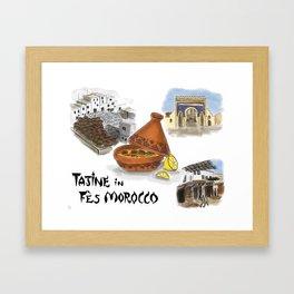 Tajine in Fes Morocco Framed Art Print