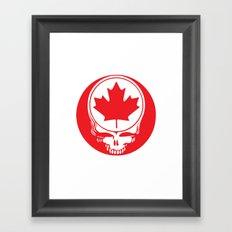 Canadian Steal Your Face (variation#4) Framed Art Print