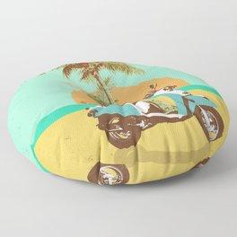 SCOOTER TROPICS Floor Pillow