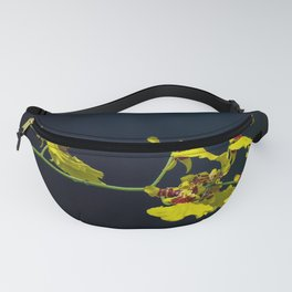 Dancing Lady Yellow Orchids Fanny Pack