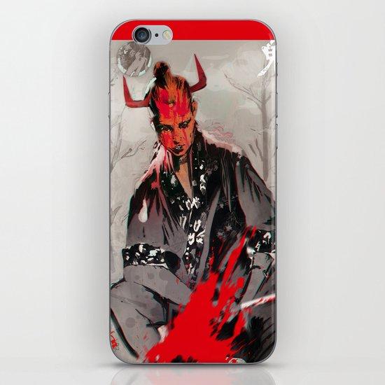 KARMA KILLER iPhone & iPod Skin