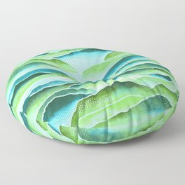 Rainforest Mountains  Floor Pillow