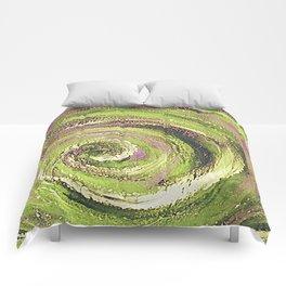 Spiral nature Comforters