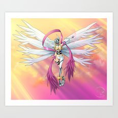 .:Guardian of Light:. Art Print