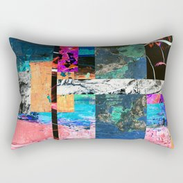 Abstraction - Abstract, textured layers Rectangular Pillow