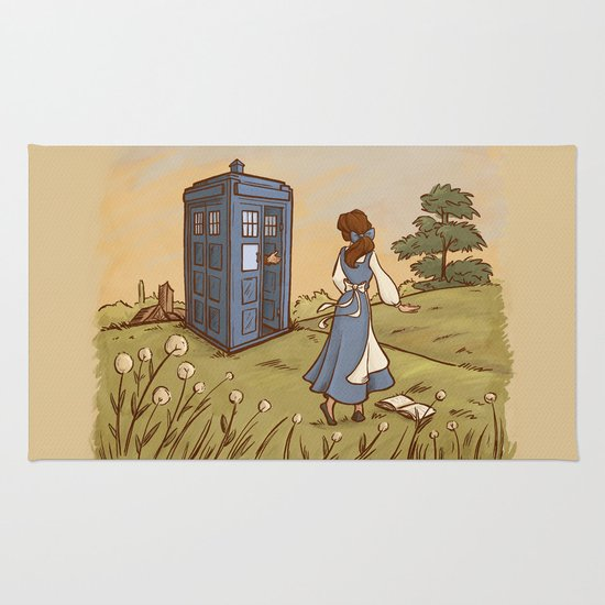 Adventure in the Great Wide Somewhere Rug