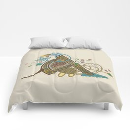 Celtic Initial A Comforters