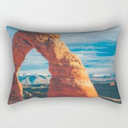 Delicate Arch Rectangular Pillow