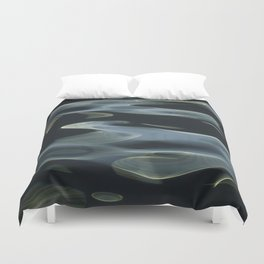 H2O # 9 - Water abstract Duvet Cover