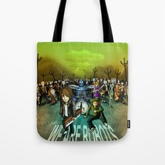 We Are Robots Tote Bag