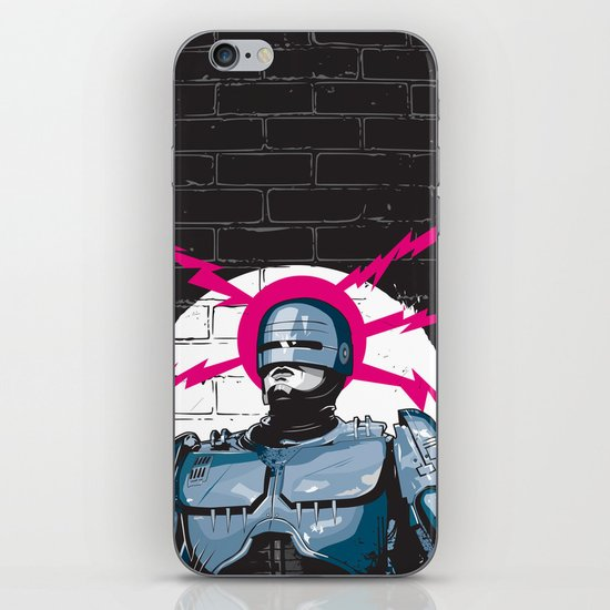 Robocop In Love iPhone & iPod Skin