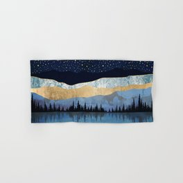 Midnight Lake Hand & Bath Towel