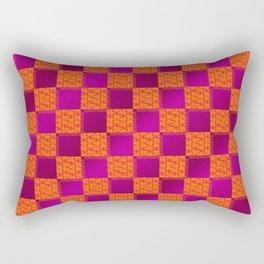Funky Check (Hotsy Totsy) Rectangular Pillow
