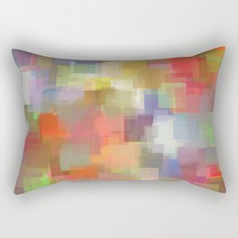 Padparadscha Cubism Rectangular Pillow