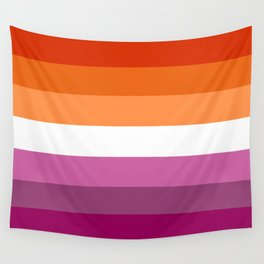 Lesbian Pride Flag Wall Tapestry