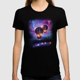 Space trip. T-shirt