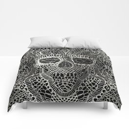 Lace Skull Comforters