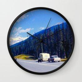 Do Not Feed the Bear Wall Clock