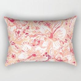 HIYA HIBISCUS Tropical Floral Rectangular Pillow