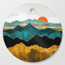 Turquoise Vista Cutting Board
