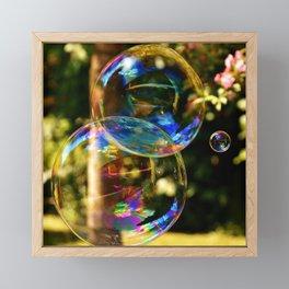 Bubbles | Bulles Framed Mini Art Print