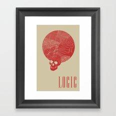 Logic Framed Art Print